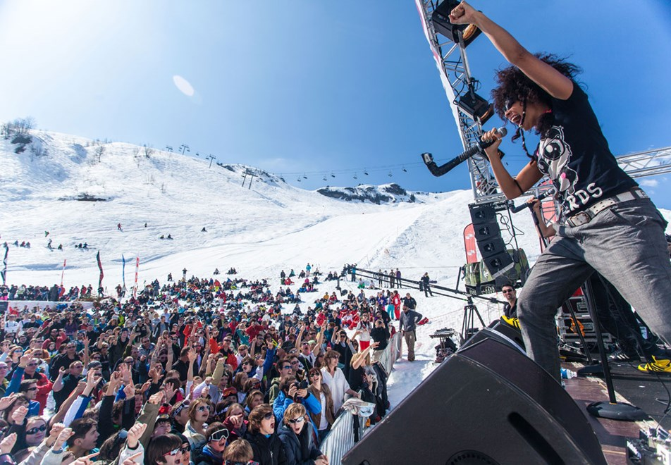 Avoriaz Ski Resort - Rock the Pistes annual festival